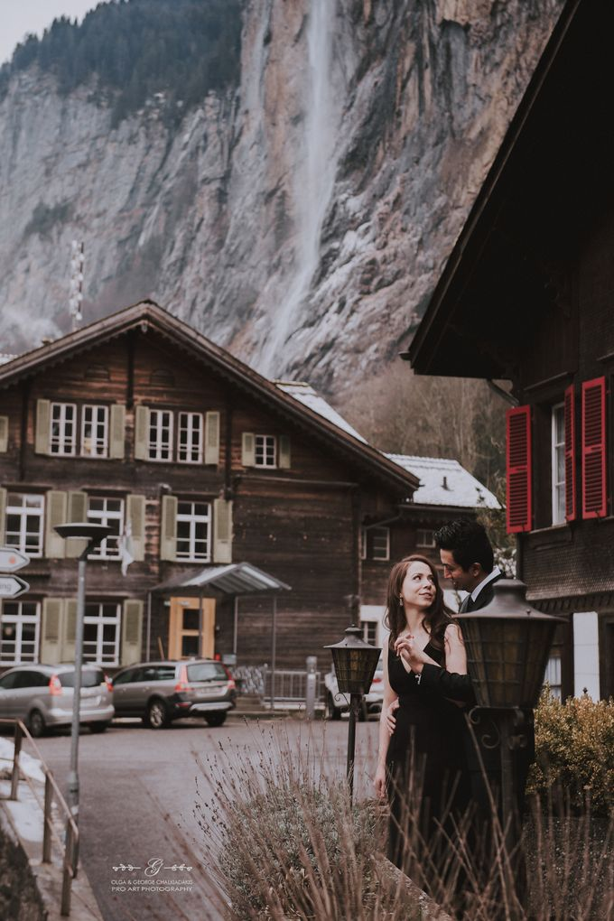 Swiss Alps Pre Wedding Photo Shoot by George Chalkiadakis Pro Art Photography - 001