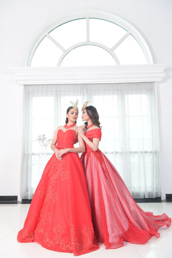 RED DRESS by natalia soetjipto - 024
