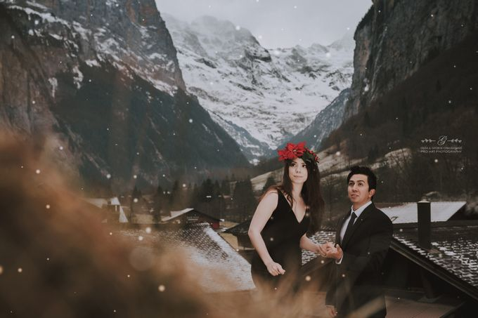 Swiss Alps Pre Wedding Photo Shoot by George Chalkiadakis Pro Art Photography - 011