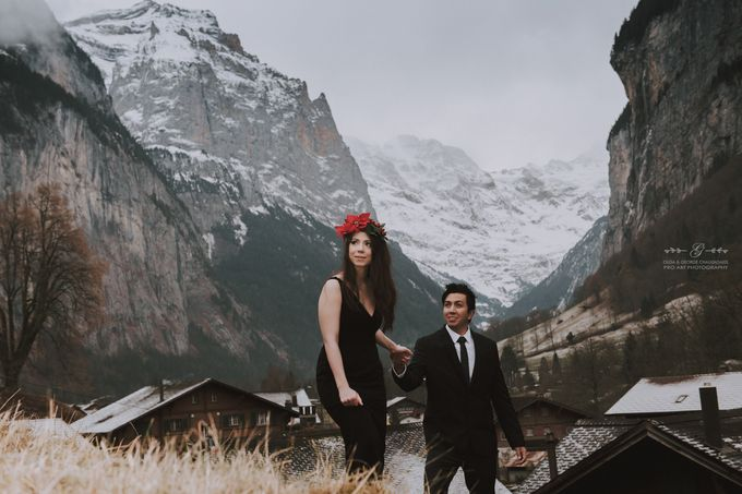 Swiss Alps Pre Wedding Photo Shoot by George Chalkiadakis Pro Art Photography - 012