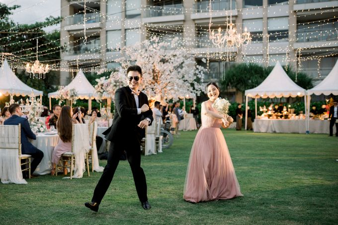 Gideon & Aktalisa Wedding by akustika bali enterprise - 016