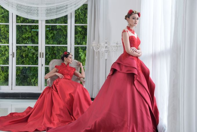 RED DRESS by natalia soetjipto - 029