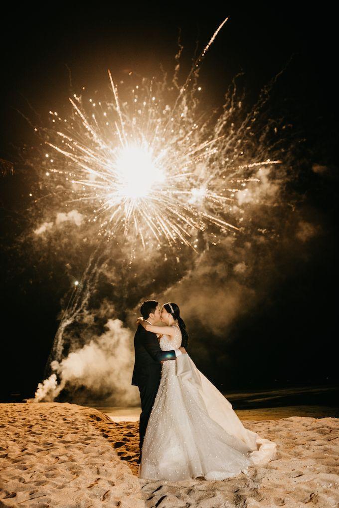 Gideon & Aktalisa Wedding by akustika bali enterprise - 015