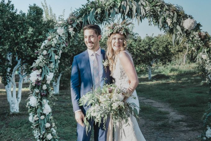 Boho Wedding at Manousakis Winery by George Chalkiadakis Pro Art Photography - 011