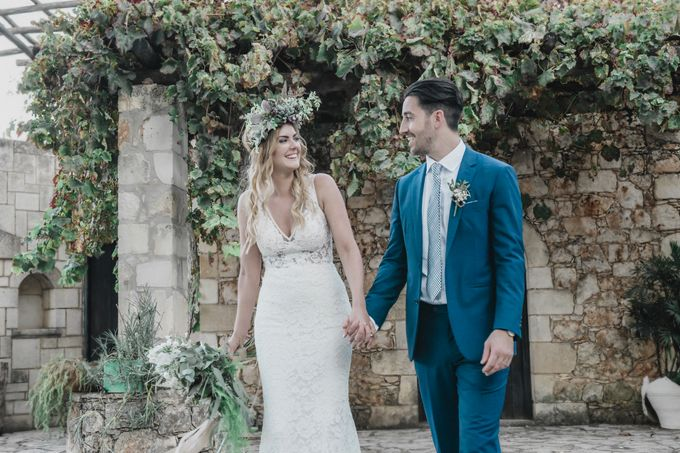 Boho Wedding at Manousakis Winery by George Chalkiadakis Pro Art Photography - 018