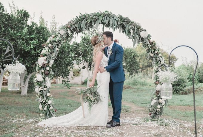 Boho Wedding at Manousakis Winery by George Chalkiadakis Pro Art Photography - 023