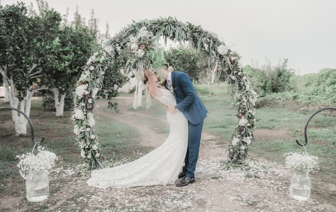 Boho Wedding at Manousakis Winery by George Chalkiadakis Pro Art Photography - 024