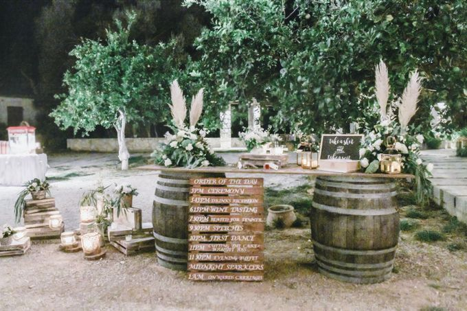 Boho Wedding at Manousakis Winery by George Chalkiadakis Pro Art Photography - 027