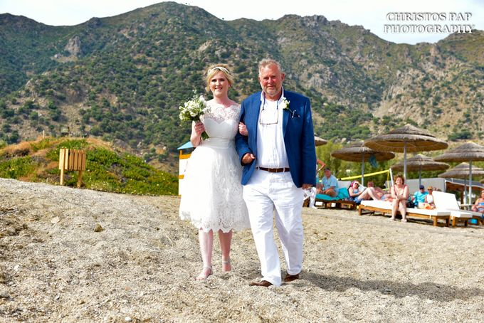wedding at Blue Domes Resort by Christos Pap Photography - 002