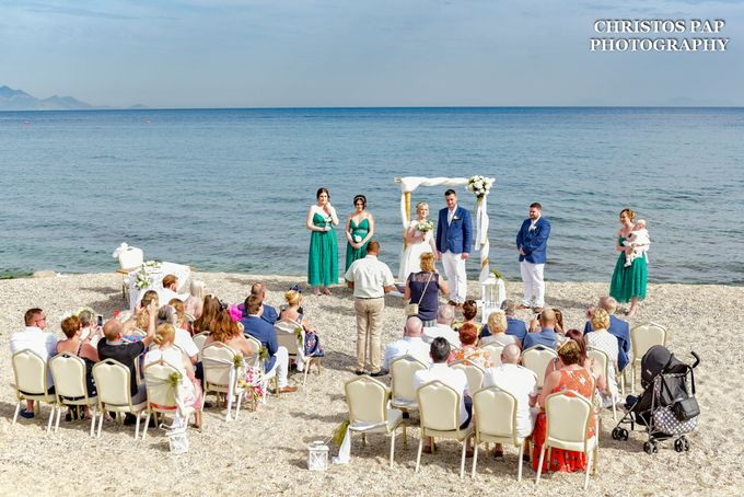 wedding at Blue Domes Resort by Christos Pap Photography - 005