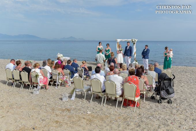 wedding at Blue Domes Resort by Christos Pap Photography - 006