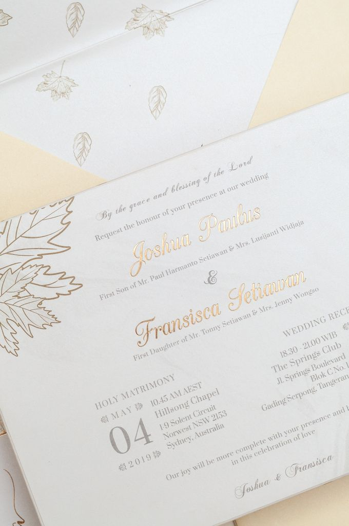 The Wedding of Joshua & Fransisca by SentimeterCard - 004