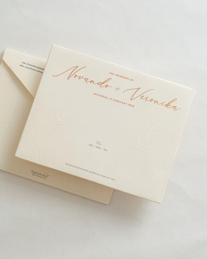 The Wedding of Novando & Veronika by SentimeterCard - 002