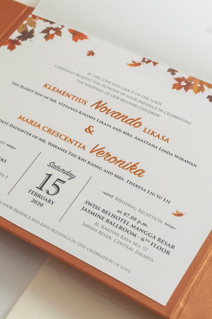 The Wedding of Novando & Veronika by SentimeterCard - 001