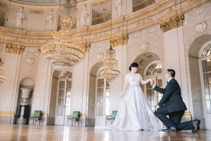 Prewedding Europe Anita Sebastian  Ludwigsburg Castle by Rosemerry Pictures - 003