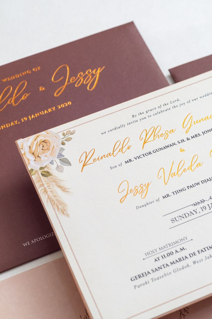 The Wedding of Reinaldo & Jessy by SentimeterCard - 003