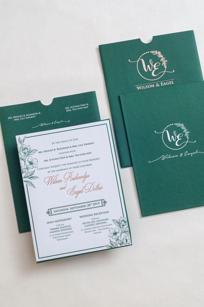 The Wedding of Wilson & Eagel by SentimeterCard - 001