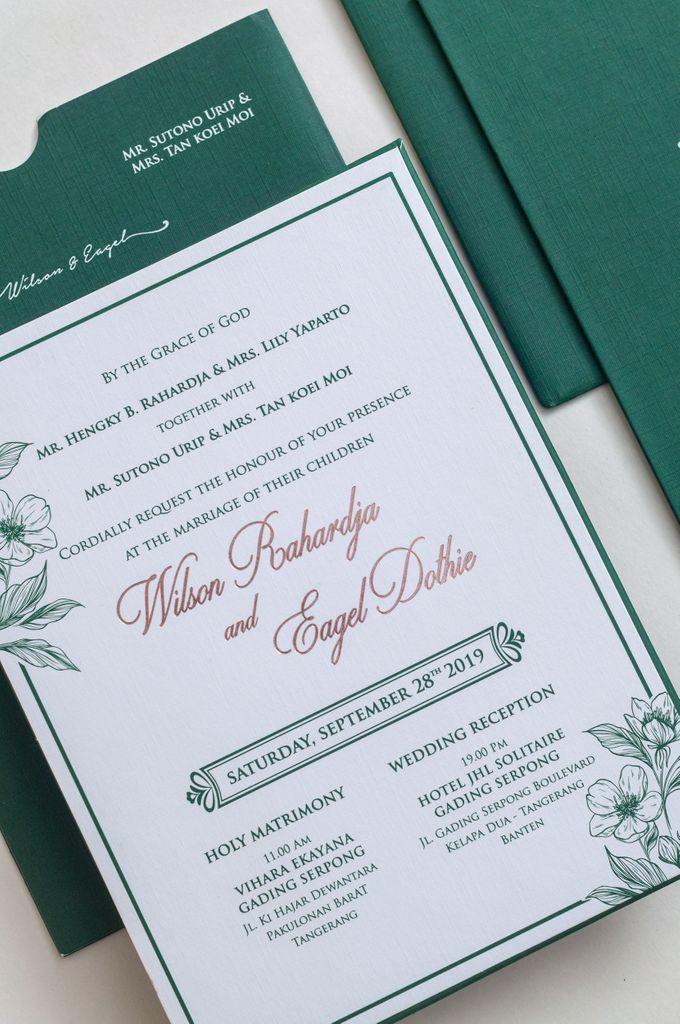 The Wedding of Wilson & Eagel by SentimeterCard - 002