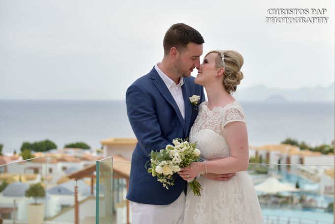 wedding at Blue Domes Resort by Christos Pap Photography - 026