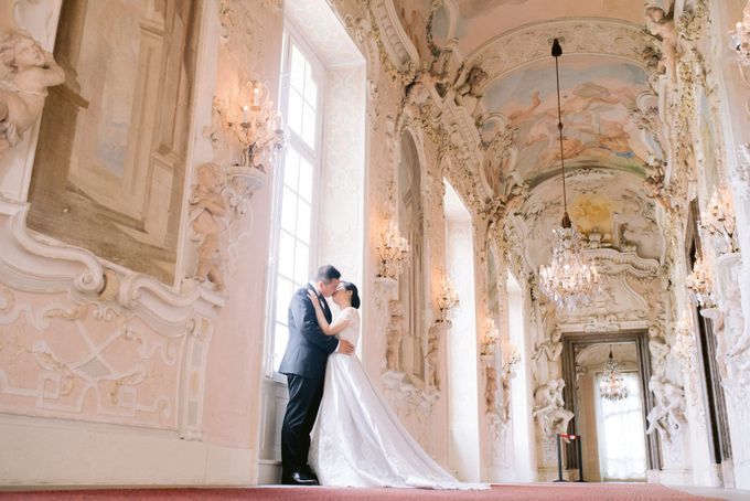 Prewedding Europe Anita Sebastian  Ludwigsburg Castle by Rosemerry Pictures - 004