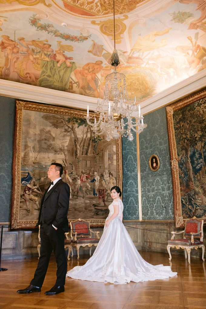 Prewedding Europe Anita Sebastian  Ludwigsburg Castle by Rosemerry Pictures - 007