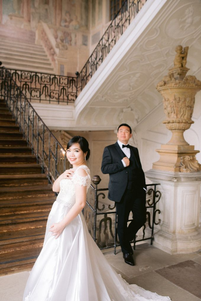 Prewedding Europe Anita Sebastian  Ludwigsburg Castle by Rosemerry Pictures - 005
