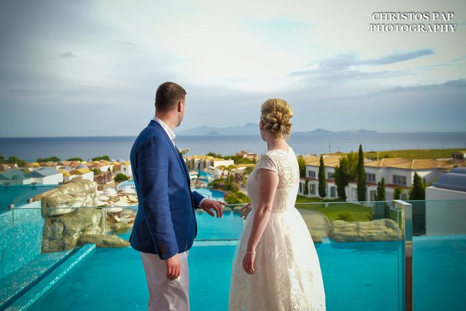 wedding at Blue Domes Resort by Christos Pap Photography - 031