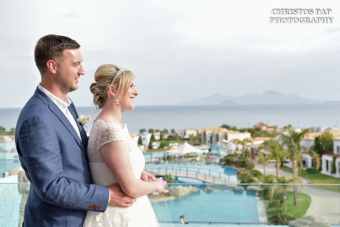 wedding at Blue Domes Resort by Christos Pap Photography - 032