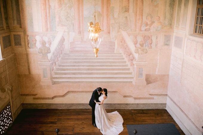 Prewedding Europe Anita Sebastian  Ludwigsburg Castle by Rosemerry Pictures - 008