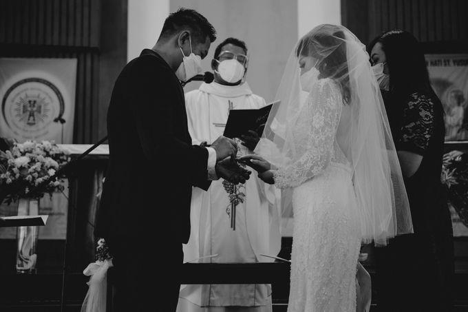 The Wedding of Priska & Yanto by Bondan Photoworks - 032