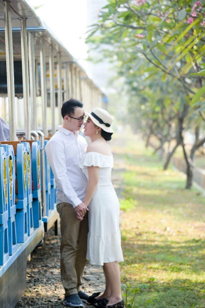 Anna & Suanto Prewedding by Michelle Bridal - 012