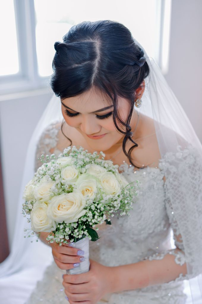Wedding Day Ms. Ariani by Nike Makeup & Hairdo - 006