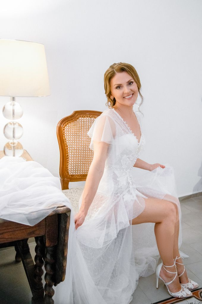 Wedding Ceremony Santorini, Larisa & Oleg by George Chalkiadakis Pro Art Photography - 001