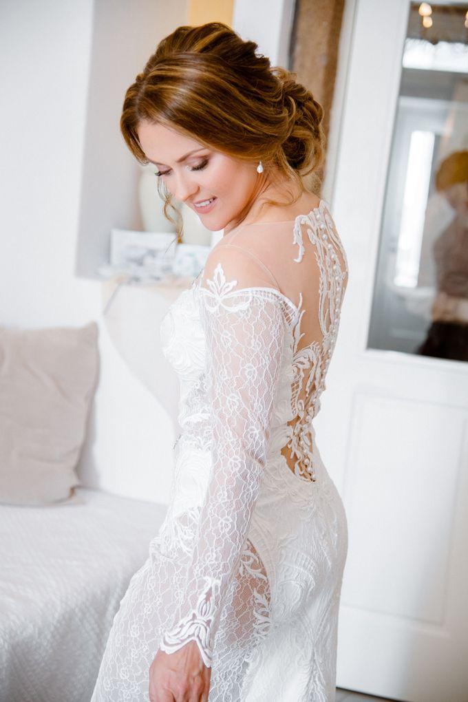 Wedding Ceremony Santorini, Larisa & Oleg by George Chalkiadakis Pro Art Photography - 003