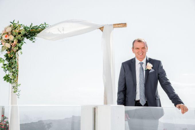 Wedding Ceremony Santorini, Larisa & Oleg by George Chalkiadakis Pro Art Photography - 007