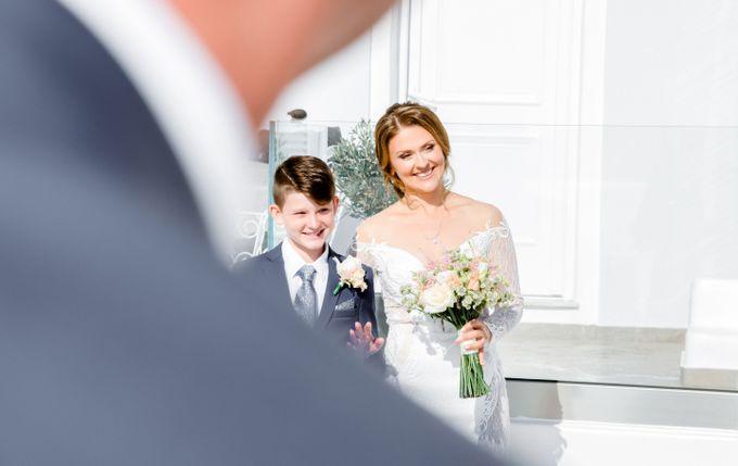 Wedding Ceremony Santorini, Larisa & Oleg by George Chalkiadakis Pro Art Photography - 009