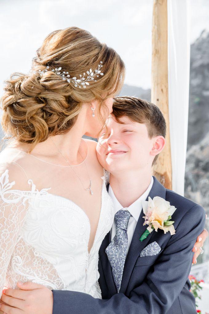Wedding Ceremony Santorini, Larisa & Oleg by George Chalkiadakis Pro Art Photography - 013