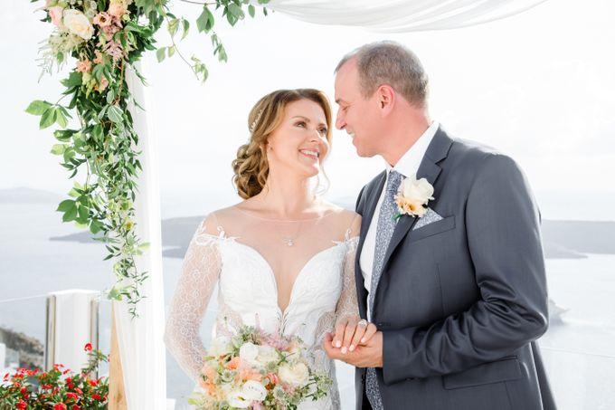 Wedding Ceremony Santorini, Larisa & Oleg by George Chalkiadakis Pro Art Photography - 014