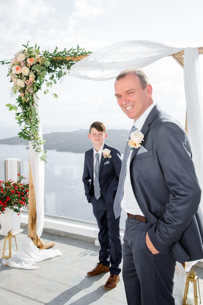 Wedding Ceremony Santorini, Larisa & Oleg by George Chalkiadakis Pro Art Photography - 015