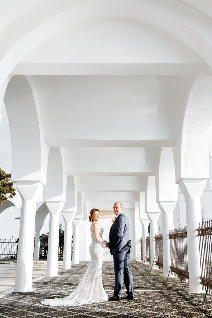 Wedding Ceremony Santorini, Larisa & Oleg by George Chalkiadakis Pro Art Photography - 019
