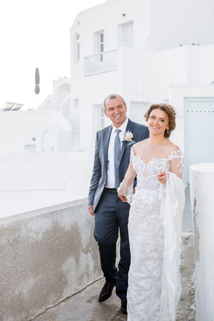 Wedding Ceremony Santorini, Larisa & Oleg by George Chalkiadakis Pro Art Photography - 020