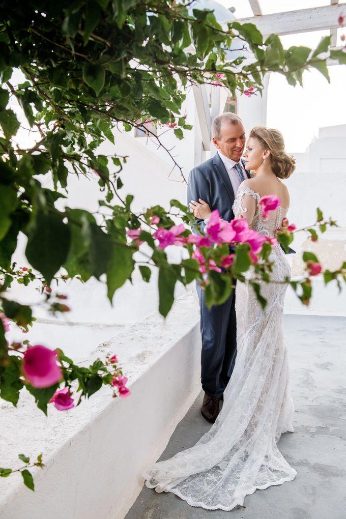 Wedding Ceremony Santorini, Larisa & Oleg by George Chalkiadakis Pro Art Photography - 021