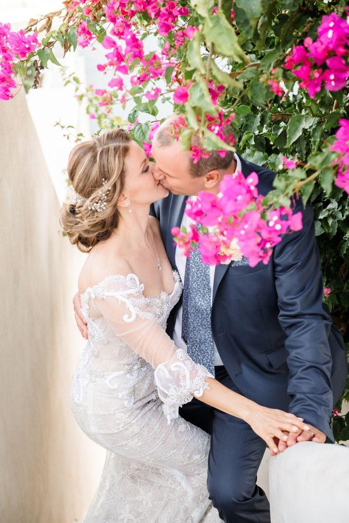 Wedding Ceremony Santorini, Larisa & Oleg by George Chalkiadakis Pro Art Photography - 022