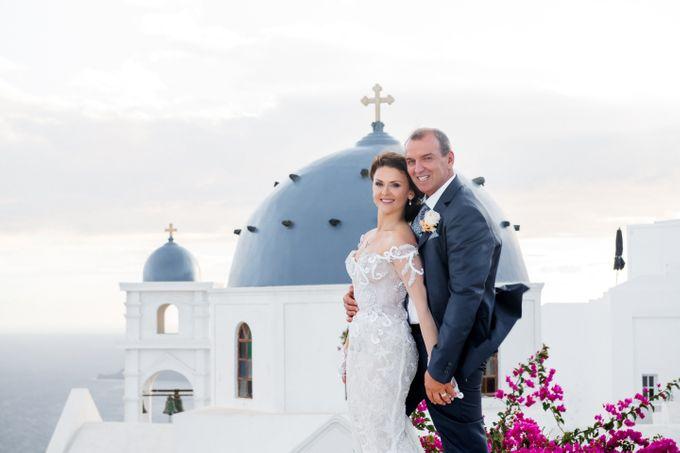 Wedding Ceremony Santorini, Larisa & Oleg by George Chalkiadakis Pro Art Photography - 023