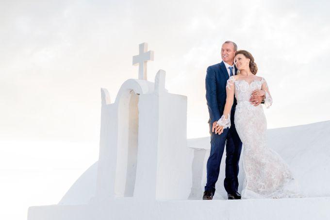 Wedding Ceremony Santorini, Larisa & Oleg by George Chalkiadakis Pro Art Photography - 024