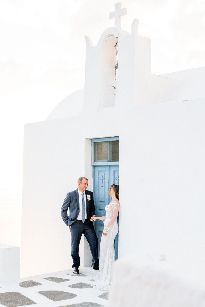 Wedding Ceremony Santorini, Larisa & Oleg by George Chalkiadakis Pro Art Photography - 025