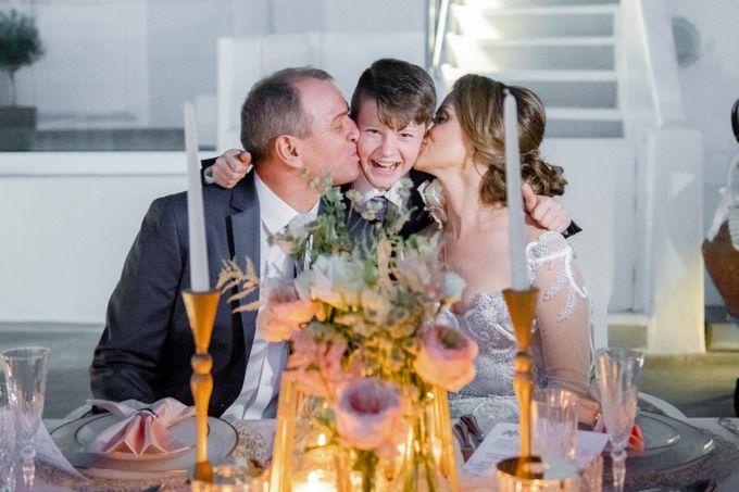 Wedding Ceremony Santorini, Larisa & Oleg by George Chalkiadakis Pro Art Photography - 027