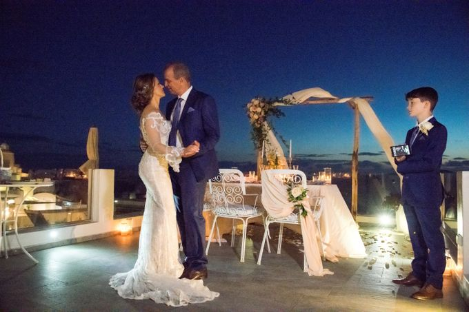 Wedding Ceremony Santorini, Larisa & Oleg by George Chalkiadakis Pro Art Photography - 028