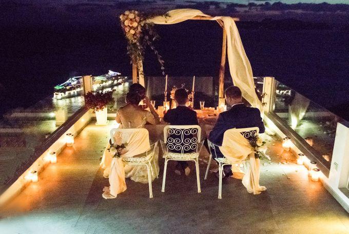 Wedding Ceremony Santorini, Larisa & Oleg by George Chalkiadakis Pro Art Photography - 029