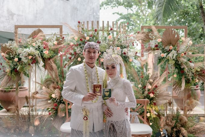 Wedding Puji & Arief by Azila Villa - 012